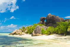 Anse Source d'Argent Royalty Free Stock Photos