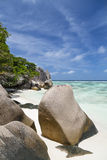 Anse Source D'Argent, La Digue, Seychelles Stock Photo