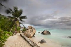 Anse Source D'Argent, La Digue, Seychelles Stock Photos