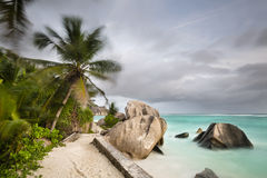 Anse Source D'Argent, La Digue, Seychelles stock photos