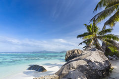 Anse Source D`Argent, La Digue, Seychelles stock photos