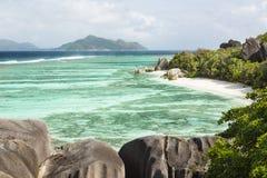 Anse Source D'Argent, La Digue, Seychelles Royalty Free Stock Photos