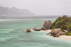 Anse Source D'Argent, La Digue, Seychelles Royalty Free Stock Photography