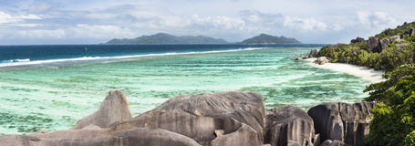 Anse Source D'Argent, La Digue, Seychelles Royalty Free Stock Images