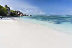 Anse Source D'Argent, La Digue, Seychelles Royalty Free Stock Photography