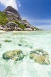 Anse Source D'Argent, La Digue, Seychelles Royalty Free Stock Images