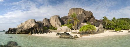 Anse Source D'Argent, Seychelles Royalty Free Stock Photos