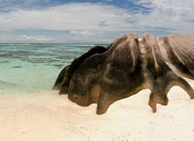 Anse Source D'Argent, Seychelles Royalty Free Stock Photo