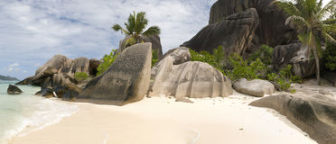 Anse Source D'Argent, Seychelles Stock Photos