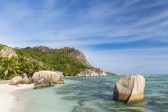 Anse Source D& x27;Argent, La Digue, Seychelles Royalty Free Stock Photos