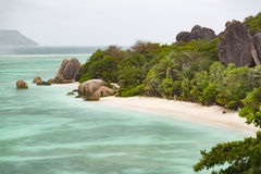 Anse Source D& x27;Argent, La Digue, Seychelles Stock Photography