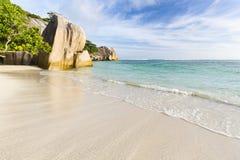Anse Source D& x27;Argent, La Digue, Seychelles Stock Image