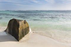 Anse Source D& x27;Argent Lagoon, La Digue, Seychelles Stock Photography