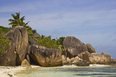 Anse Source dArgent Royalty Free Stock Photo