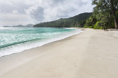 Anse Takamaka, Mahe, Seychelles Royalty Free Stock Photography