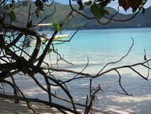 Anse tropical lazio da praia Fotografia de Stock Royalty Free