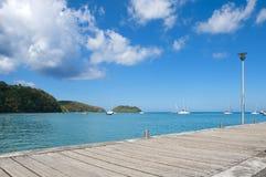 Anse um l ` Ane - Martinica Imagens de Stock