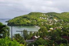 Anse um l ` Ane, Trois-Ilets, Martinica fotos de stock royalty free