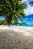 anse wyspy Lazio praslin Seychelles Zdjęcia Royalty Free