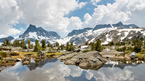 Ansel Adams Wilderness alpine See-Landschaft Stockfoto