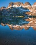 Ansel Adams Wilderness in the Eastern Sierras. Ansel Adams Wilderness is a desginated wilderness in the Eastern Sierras royalty free stock photography
