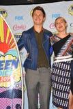 Ansel Elgort & Shailene Woodley Στοκ Εικόνα