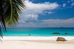 AnseLanzio Beach Stock Image