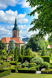 Ansgar Church Aalborg Arkivfoton