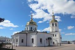 Ansicht über Abalak-Kloster Lizenzfreie Stockfotos