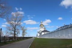 Ansicht über Abalak-Kloster Stockfoto