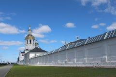 Ansicht über Abalak-Kloster Lizenzfreies Stockfoto