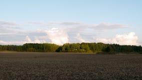 Ansicht über Ackerland Stockbild