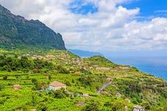 Ansicht über ACRO de Sao Jorge, Madeira Lizenzfreie Stockbilder