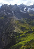Ansicht über Alpe in den Alpen (karwendel) Stockbild