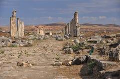 Ansicht über Apamea (Afamia) Lizenzfreies Stockfoto