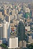 Ansicht über Bangkok lizenzfreie stockfotografie