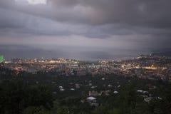 Ansicht über Batumi, Georgia Lizenzfreie Stockfotos