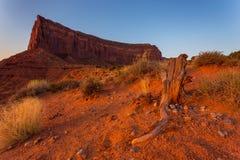 Ansicht über Bildungen im Monument-Tal, Arizona Lizenzfreies Stockbild