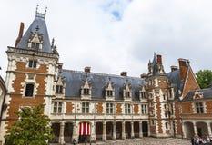 Ansicht über Blois-Schloss Stockfoto