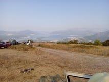 Ansicht über Boka-kotorska Stockfoto