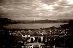 Ansicht über Boulder-Stadt Lizenzfreie Stockfotos