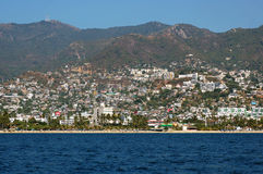 Ansicht über Bucht von Acapulco, Mexiko Stockfoto