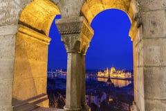 Ansicht über Budapest, Ungarn Stockfotos