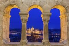 Ansicht über Budapest, Ungarn Lizenzfreies Stockbild