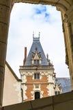 Ansicht über Chateau Blois Stockfotos