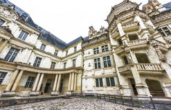 Ansicht über Chateau Blois Lizenzfreie Stockbilder
