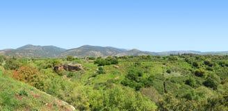 Das Golanhöhen Stockfoto