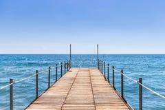 Ansicht über das Meer Lizenzfreie Stockbilder