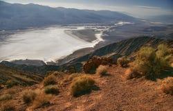 Ansicht über Death Valley Lizenzfreies Stockfoto