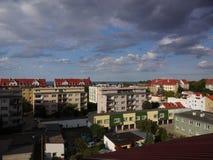 Ansicht über den Golf von Gdansk Stockfotografie
